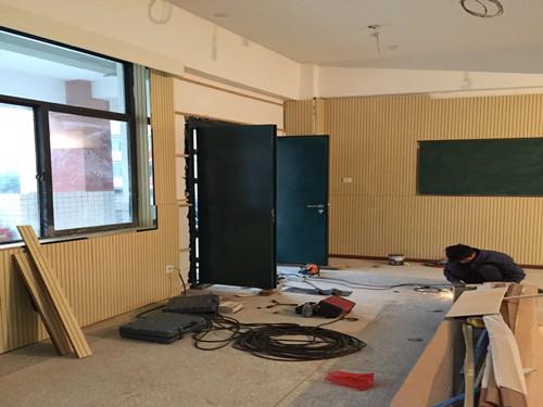 长沙北雅中学多媒体教室ManBetx客户端门(3)
